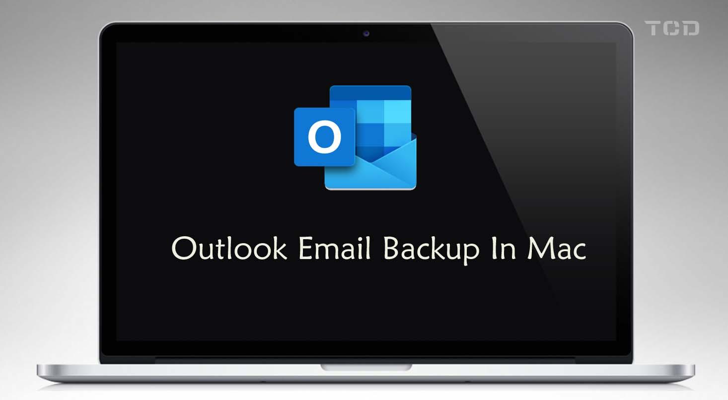 outlook email backup macbook